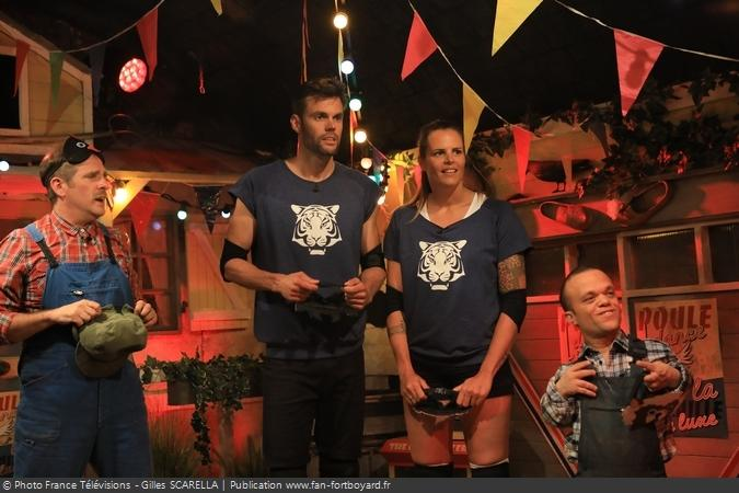 Fort Boyard 2018 - Equipe 5 (28/07/2018)