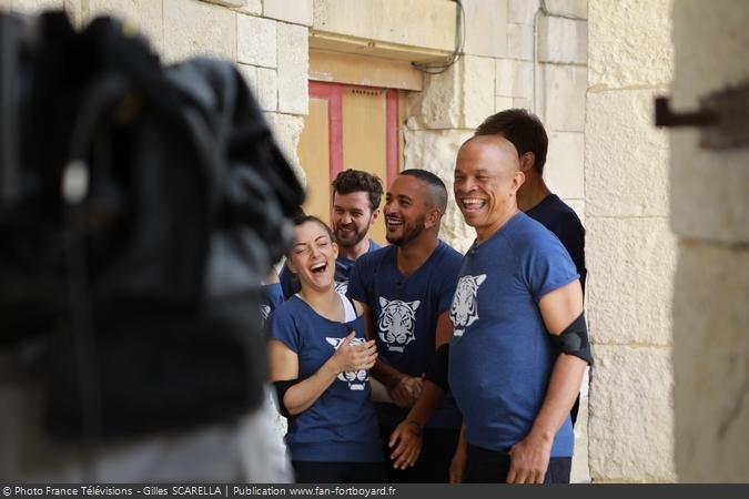 Fort Boyard 2018 - Coulisses de l'Equipe 7 (18/08/2018)