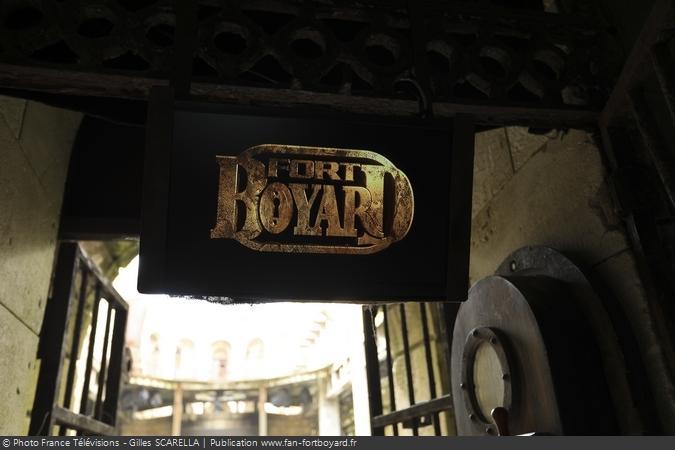 Fort Boyard 2018 - Moniteur à l'entrée du fort