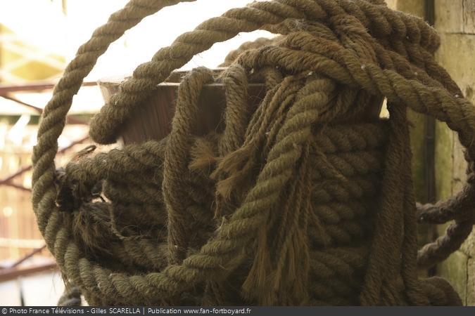 Fort Boyard 2018 - Cordages dans les coursives
