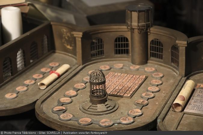 Fort Boyard 2018 - Maquette du plateau de jeu dans l'Antre du Père Fouras