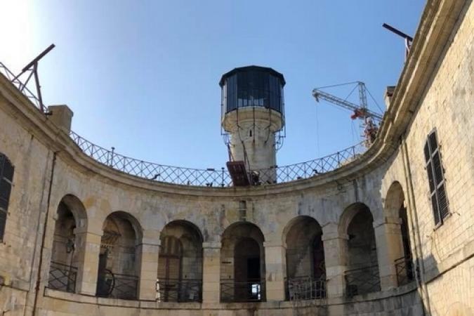 Fort Boyard 2018 - Installation des nouveautés (20/04/2018)