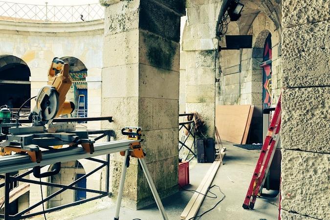 Fort Boyard 2018 - Installation des nouveautés (23/04/2018)