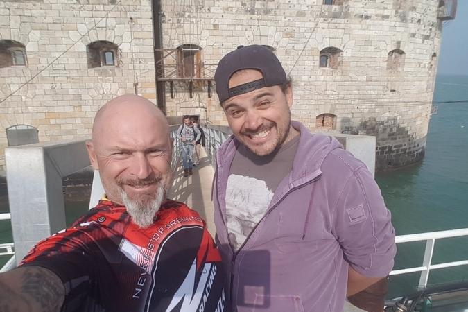 Fort Boyard 2018 - Vincent Lagaf' et son fils (17/05/2018)