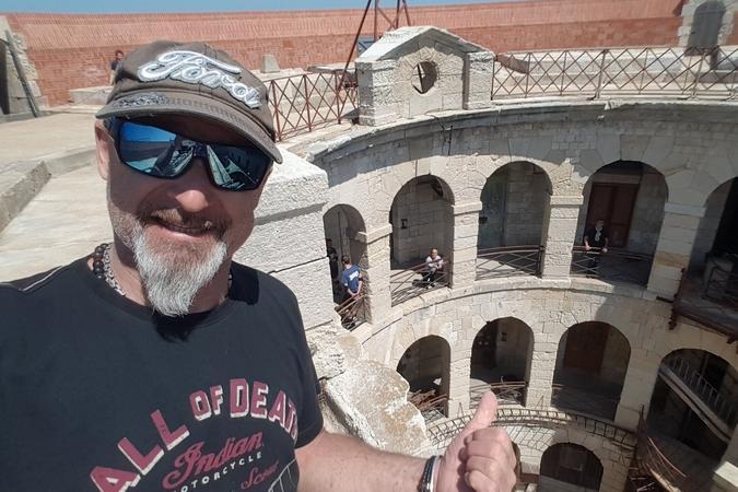 Fort Boyard 2018 - Vincent Lagaf' visite le fort (18/05/2018)