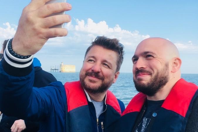Fort Boyard 2018 - Equipe tournage 1 (21/05/2018)