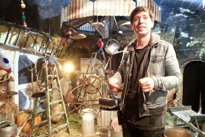 Fort Boyard 2018 - Le producteur artistique dans la nouvelle cellule des Bodin's (23/05/2018)