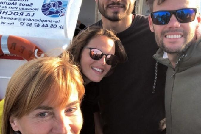 Fort Boyard 2018 - Equipe tournage 4 (24/05/2018)