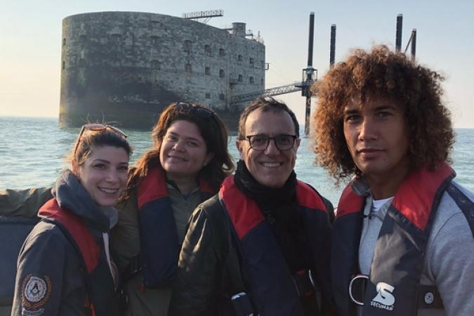 Fort Boyard 2018 - Equipe tournage 3 (23/05/2018)
