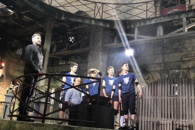 Fort Boyard 2018 - Equipe tournage 6 (28/05/2018)
