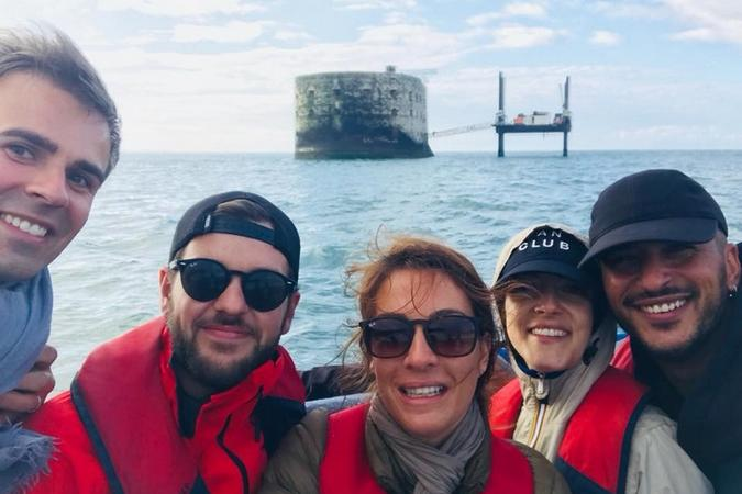 Fort Boyard 2018 - Equipe tournage 8 (30/05/2018)