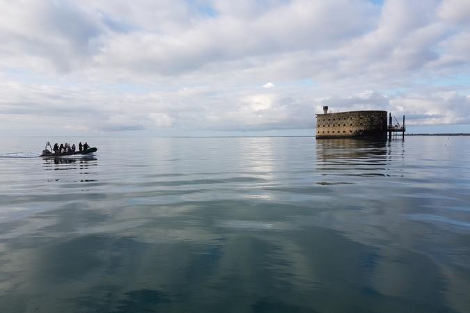Fort Boyard 2018 - Océan calme pour le 10e jour (01/06/2018)