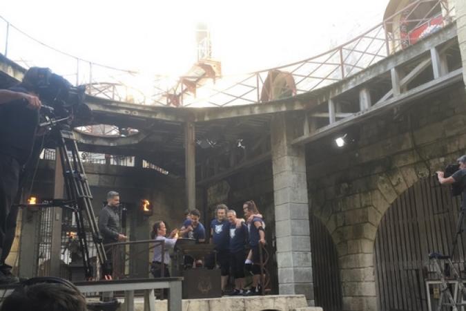 Fort Boyard 2018 - Equipe tournage 2 (22/05/2018)