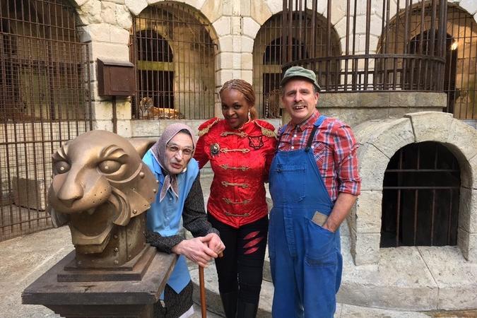 Fort Boyard 2018 - Les Bodin's et Félindra