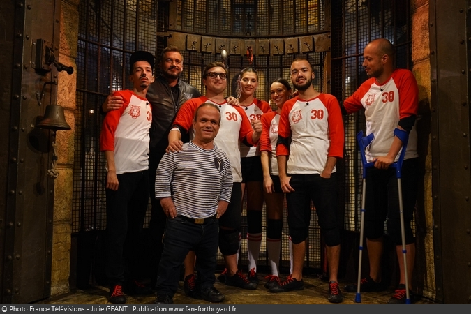 Fort Boyard 2019 - Equipe 3 - Secours Populaire (06/07/2019)