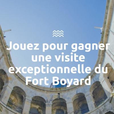Gagnez une visite exceptionnelle du Fort Boyard en famille