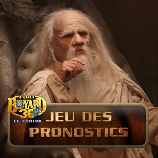 Jeu des Pronostics 2019 (Fort Boyard Le Forum)