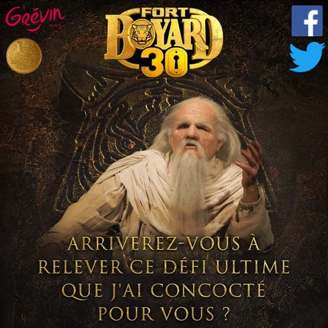 Jeu officiel Fort Boyard 2019