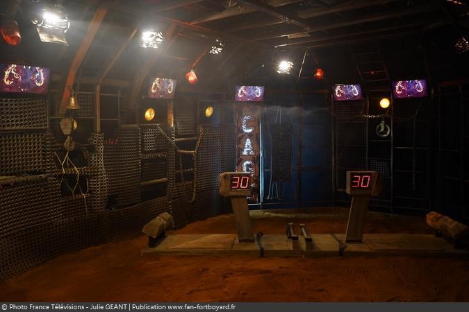 Fort Boyard 2019 - Le duel de l'Endurance dans la Cage