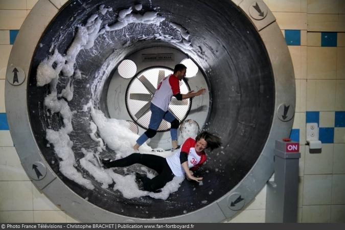 Fort Boyard 2019 - L'épreuve de la Laverie automatique