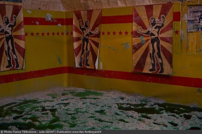 Fort Boyard 2019 - La cellule de la Lutte