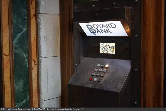 Fort Boyard 2019 - Le distributeur de la Banque