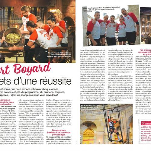 MAXI n°1708 (22 au 28 juillet) - Article de Clémence Levasseur