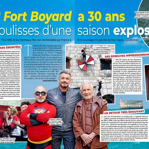 Télé Loisirs n°1738 (22 au 28 juin) - Article de Benjamin Rabier