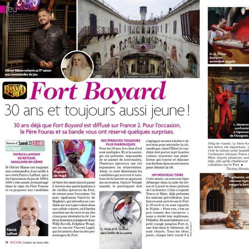 Télé Star n°2229 (22 au 28 juin) - Article de Thomas Monnier
