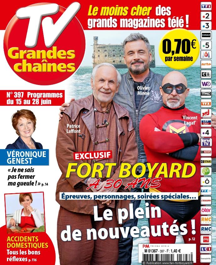 Revue de presse : Articles et reportages qui parlent de Fort Boyard 2019 Fort-boyard-2019-presse-tvgrandeschaines-01