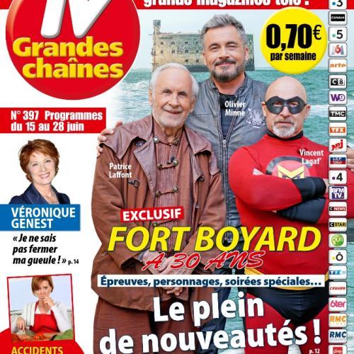 TV Grandes chaînes n°397 (15 au 28 juin) - Article de Benjamin Rabier