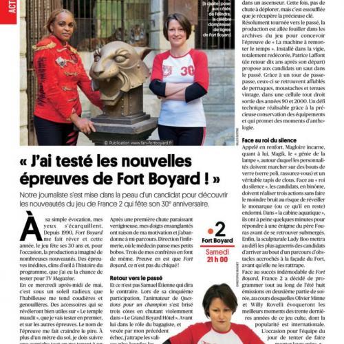 TV Magazine n°1689 (16 au 22 juin) - Article d'Emilie Geffray