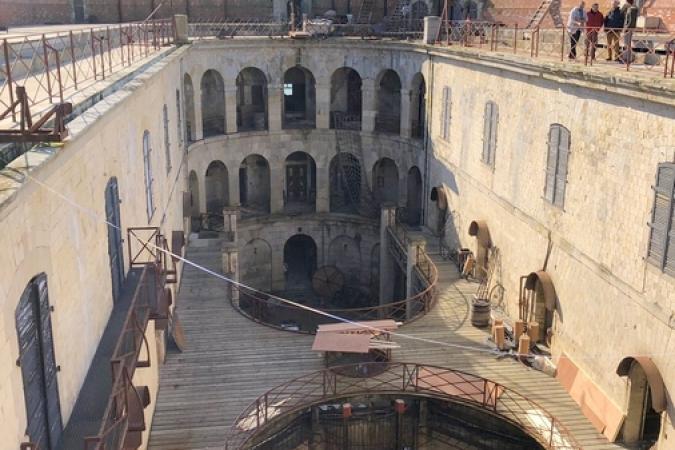 Fort Boyard 2019 - Installation des nouveautés de la 30e saison (27/03/2019)