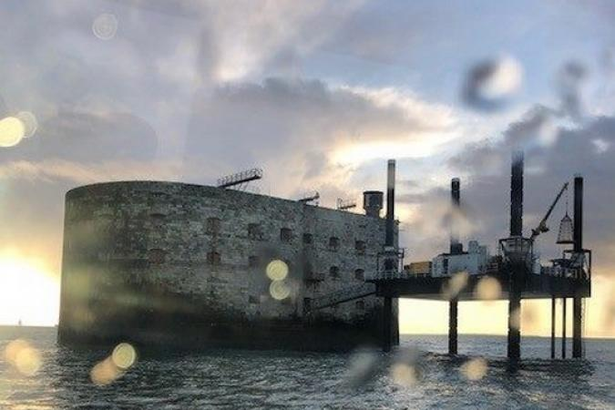 Fort Boyard 2019 - Le jour se lève sur le fort (05/04/2019)