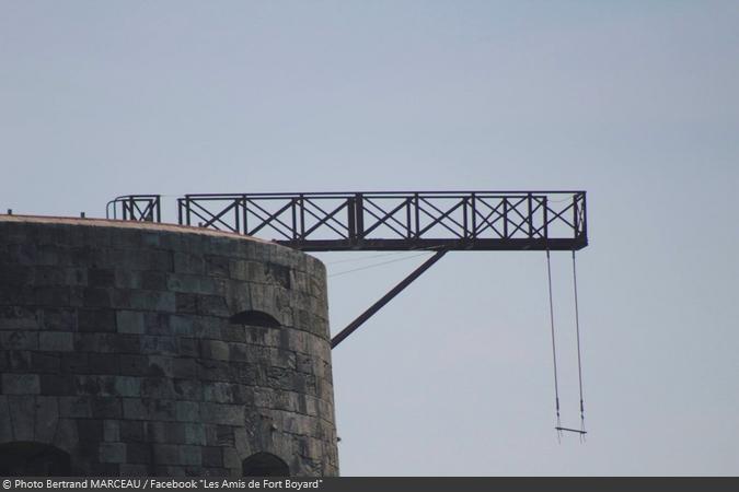 Fort Boyard 2019 - Une balançoire sous le sautoir du Saut de l'ange ? (13/04/2019)