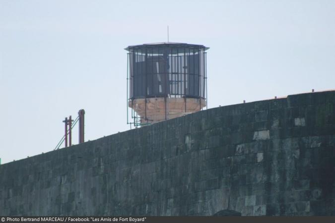 Fort Boyard 2019 - De nouveaux éléments de décors en cours d'installation dans la vigie (13/04/2019)