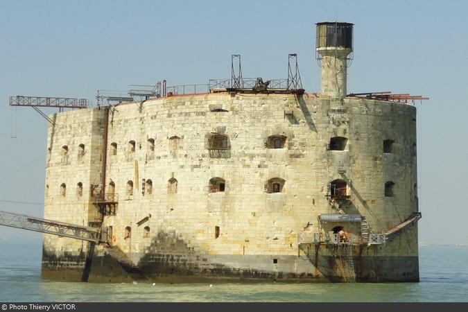 Fort Boyard 2019 - De nouvelles installations à la place de l'ancienne Varappe (19/04/2019)