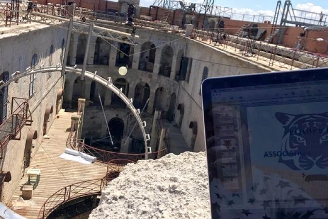 Fort Boyard 2019 - Derniers tests et réglages (03/05/2019)
