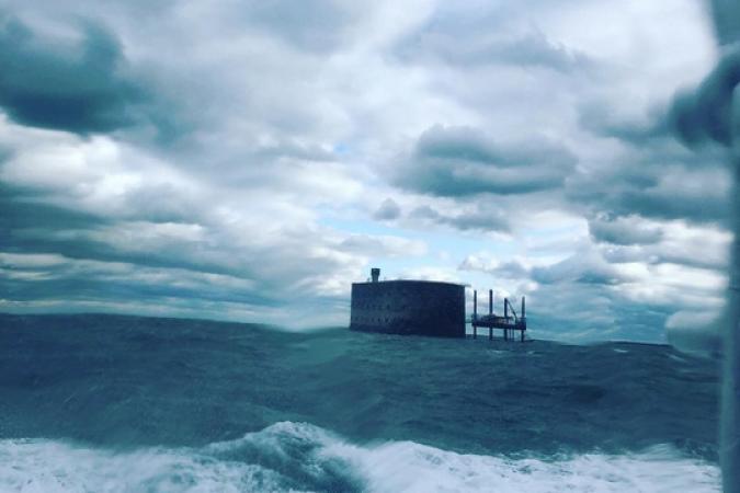 Fort Boyard 2019 - Temps humide et frais pour les répétitions (04/05/2019)