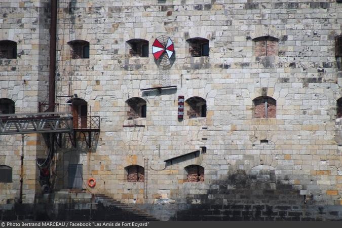 Fort Boyard 2019 - Une nouvelle aventure d'escalade d'obstacles sur la façade du fort (05/05/2019)