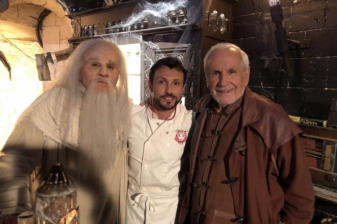Fort Boyard 2019 - Le Père Fouras, le Chef Willy et Patrice Laffont (10/05/2019)
