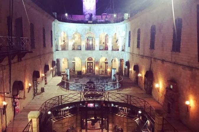 Fort Boyard 2019 - La cour intérieure de nuit (10-11/05/2019)