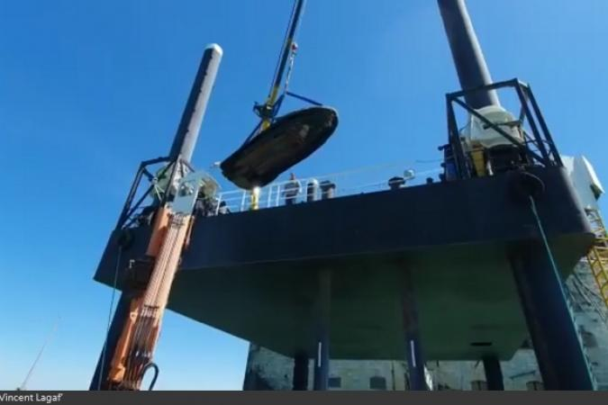 Fort Boyard 2019 - Arrivée du matériel de Mégagaf (13/05/2019)