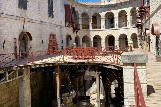 Fort Boyard 2019 - La cour intérieure (15/05/2019)