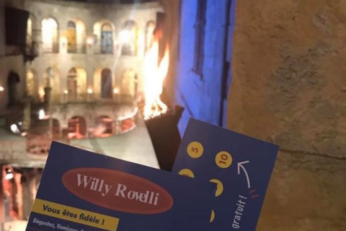 Fort Boyard 2019 - Les cartes de visite du Chef Willy (17/05/2019)