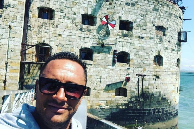 Fort Boyard 2019 - Cyril ANDRE arrive au fort (20/05/2019)