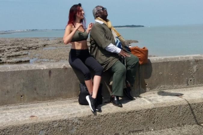 Fort Boyard 2019 - Delphine Wespiser et magloire à Fouras (22/05/2019)