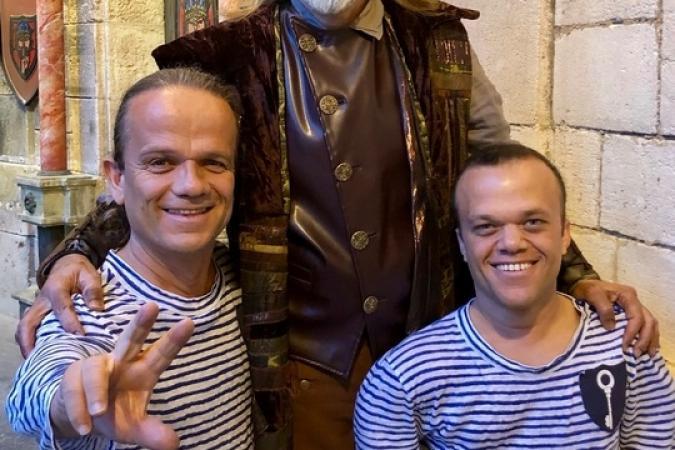 Fort Boyard 2019 - Le magicien Serge AVRIL sur le fort pour le duel du Bonneteau au Conseil (23/05/2019)