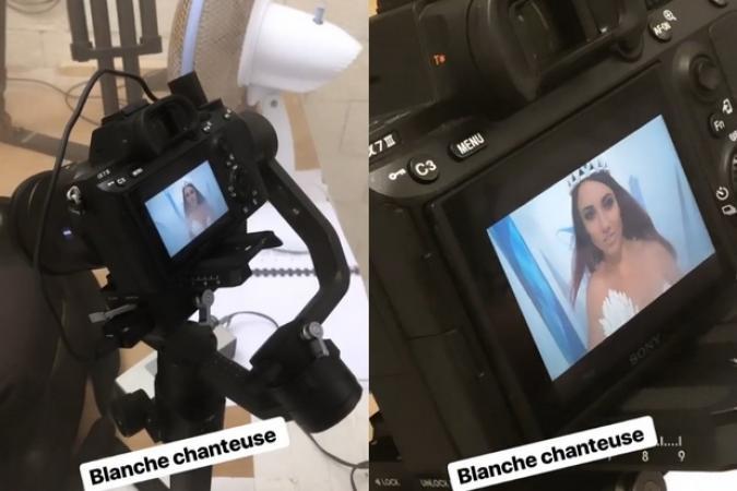 Fort Boyard 2019 - Delphiser Wespiser tourne des séquences en Blanche (23/05/2019)