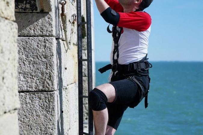 Fort Boyard 2019 - Les journalistes testent la Course-poursuite (après les tournages)